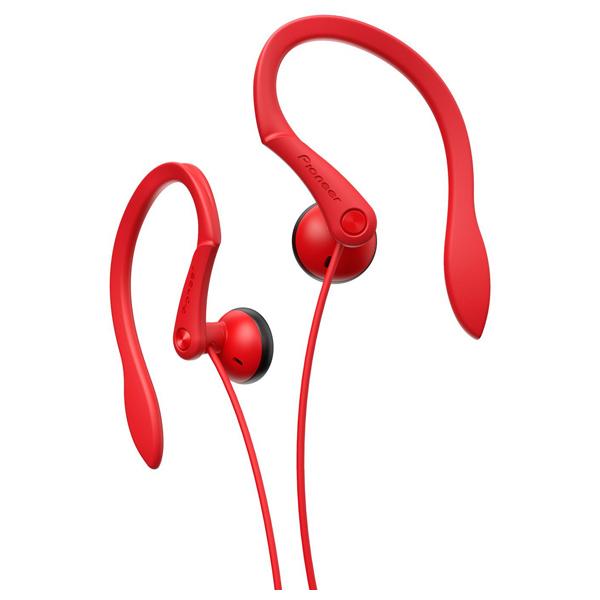 Casti PIONEER SE-E511-R, Cu Fir, In-Ear, rosu