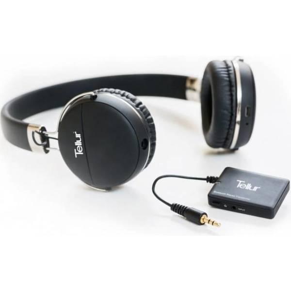 Casti TELLUR Morpheus Zeal, Bluetooth, On-Ear, Microfon, negru