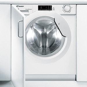 Masina de spalat rufe incorporabila cu uscator CANDY CBWD 8514D-S, 8/5kg, 1400rpm, Clasa A, alb