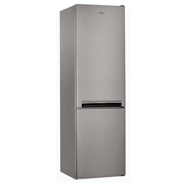 Combina frigorifica WHIRLPOOL BSNF 9101 OX, No Frost, 349 l, H 201 cm, Clasa A+, 6th Sense, inox