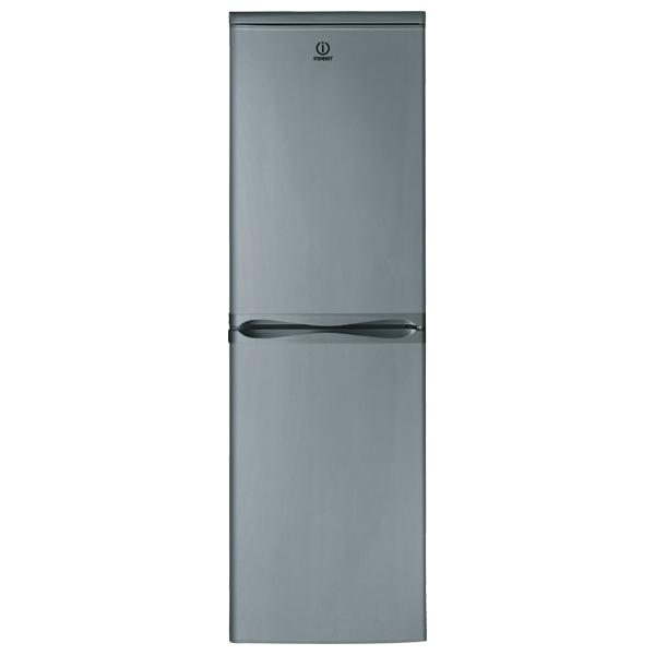 Combina frigorifica INDESIT CAA 55 NX, Low Frost, 234 l, H 174 cm, Clasa A+, inox