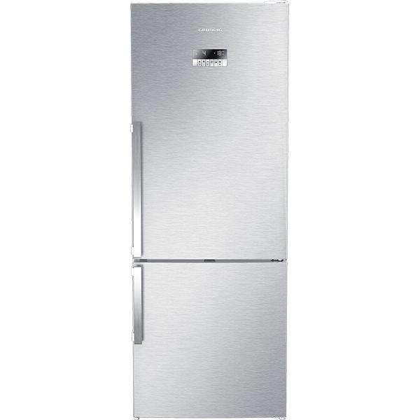 Combina frigorifica GRUNDIG GKN 17920 FX, Duo-Cooling No Frost, 454 l, H 192 cm, Clasa A++, inox