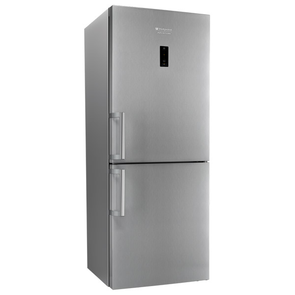 Combina frigorifica HOTPOINT XH8 T2O XZH, No Frost, 340 l, H 189 cm, Clasa A++, inox