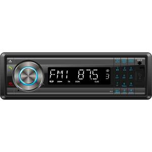Radio MP3 auto SMAILO Easy Talk & Drive, 4x40W, USB, Card Reader, Bluetooth, iluminare albastru