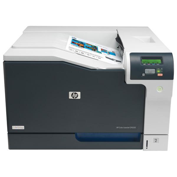 Imprimanta laser color HP LaserJet Professional CP5225, A3, USB, alb-negru