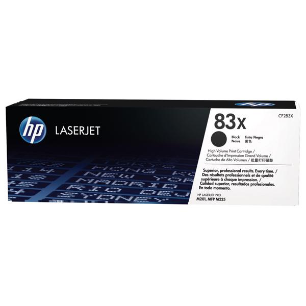 Toner HP 83X (CF283X), negru