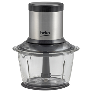 Mini tocator BEKO CHG7402X, 1l, 400W, 2 trepte viteza, argintiu-negru