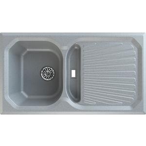 Chiuveta bucatarie GORENJE KVE 601, 1 1/2 cuve, picurator reversibil, compozit, gri