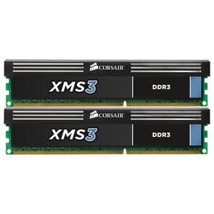 Memorie desktop CORSAIR CMX8GX3M2A1600C9, 2 x 4GB DDR3, 1600MHz, CL9