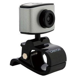 Camera Web CANYON CNE-CWC2, 1600 x 1200 pixeli, argintiu-negru