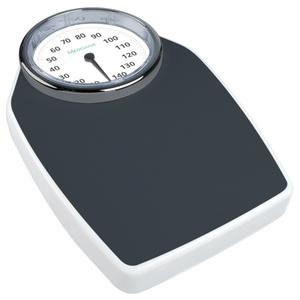 Cantar de persoane MEDISANA PSD 40461, sticla, 150 kg, alb-negru