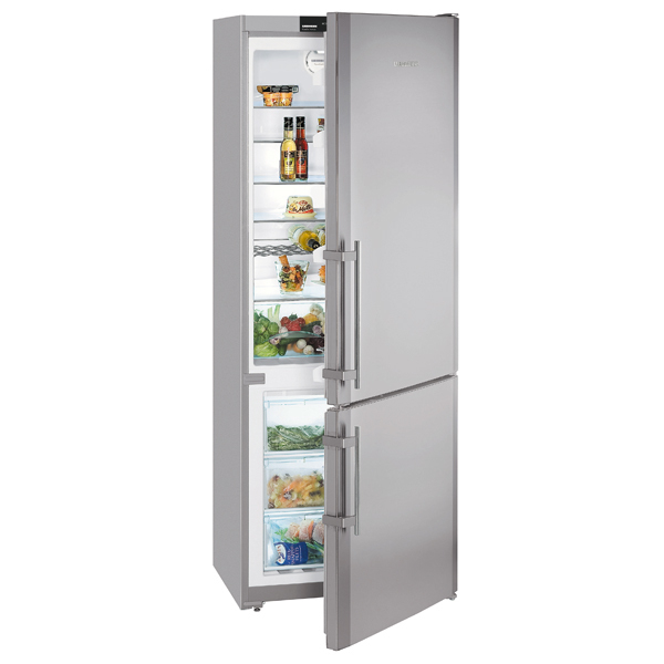Combina frigorifica No Frost LIEBHERR CNesf 5113 Comfort, 453 l, 202 cm, A+, inox