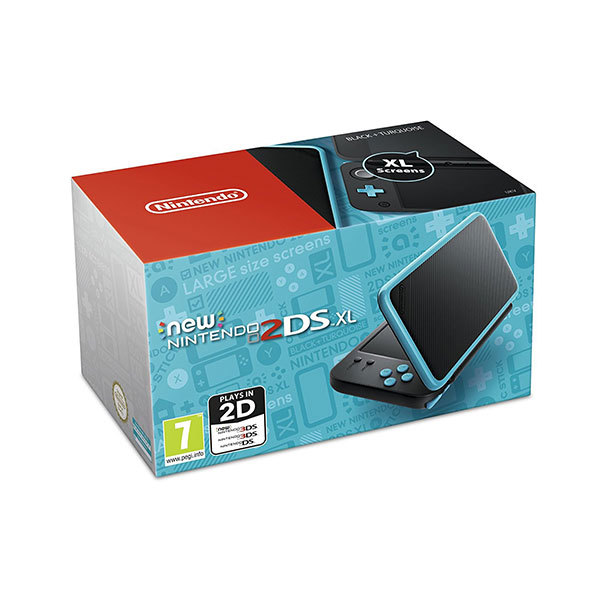 Consola New Nintendo 2DS XL Black + Turquoise GR