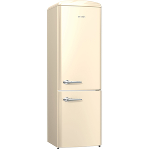 Combina frigorifica NoFrost Plus GORENJE ONRK193C, 307 l, 194 cm, A+++, bej