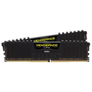 Memorie desktop CORSAIR Vengeance LPX Black, 2x4GB DDR4, 2400MHz, CL16, CMK8GX4M2A2400C16