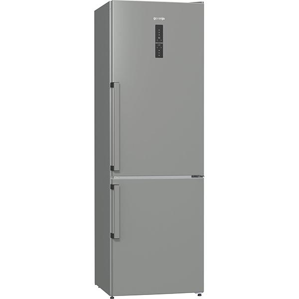 Combina frigorifica GORENJE NRK6193TX, No Frost Plus, 302 l, H 185 cm, Clasa A+++, inox