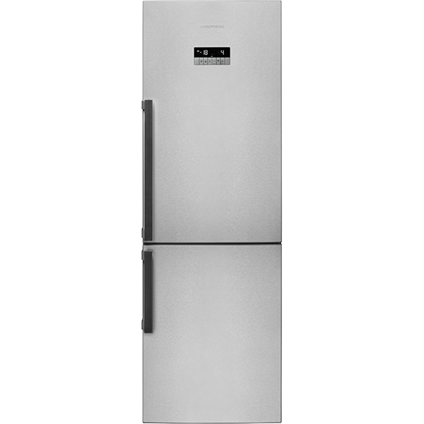 Combina frigorifica GRUNDIG GKN 16820 FX, Duo-Cooling No Frost, 316 l, H 184.5 cm, Clasa A++, inox