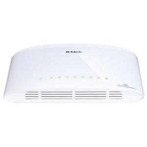 Switch D-LINK DGS1008D, 8 porturi, alb