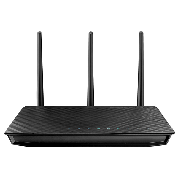 Router wireless ASUS RT-N66U Dual-Band, 450 + 450Mbps, WAN, LAN, USB 2.0, negru