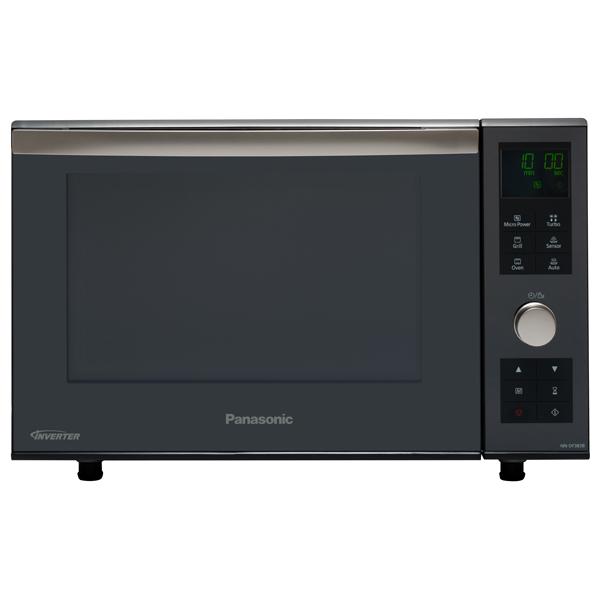 Cuptor cu microunde combi PANASONIC NN-DF383BEPG, 23l, 1000W, grill, Inverter, digital, negru