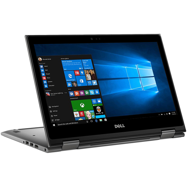 "Laptop 2 in 1 DELL Inspiron 5579, Intel Core i7-8550U pana la 4.0GHz, 15.6"" Full HD Touch, 16GB, SSD 512GB, Intel UHD Graphics 620, Windows 10 Home"