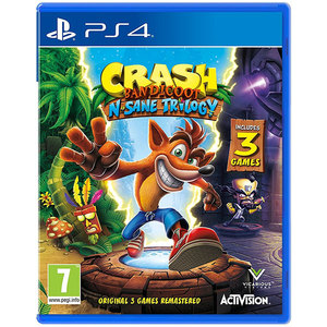 Crash Bandicoot N. Sane Trilogy Remastered PS4 (include 3 jocuri)