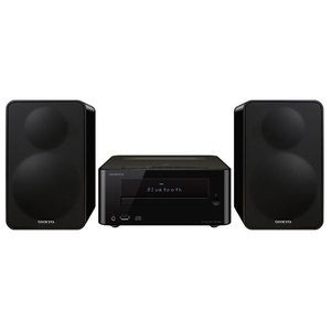 Minisistem ONKYO CS-265 B, 40W RMS, CD, USB, Bluetooth, negru