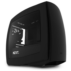 Carcasa NZXT Manta black, 2 x USB 3.0, mini-ITX, CA-MANTW-M1
