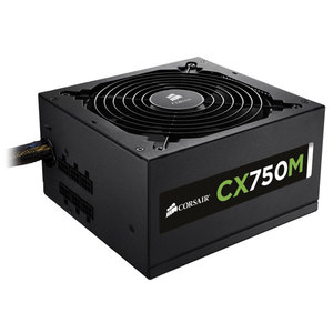 Sursa de alimentare CORSAIR Builder Series CX750M, CP-9020061, 750W, 120mm