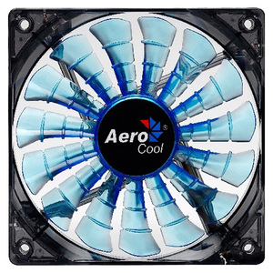 Ventilator Aerocool Shark Blue LED Edition, 120mm, EN55420