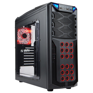 Carcasa In Win GT1 Black, 2 x USB 2.0, 1 x USB 3.0, IW-GT1-BK