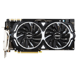 Placa video MSI NVIDIA GeForce GTX 1080, 8GB GDDR5X, 256bit, GTX 1080 ARMOR 8G OC