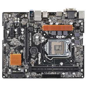 Placa de baza ASROCK H110M-HDV, chipset H110, socket 1151, 2xDDR4, 4xSATA3, mATX