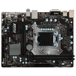Placa de baza MSI H110M PRO-D, chipset H110, socket 1151, 2xDDR4, 4xSATA3, mATX