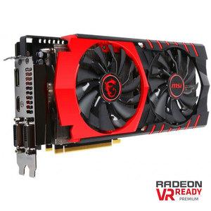 MSI Radeon R9 390X, 8GB GDDR5 (512 Bit), HDMI, 2xDVI, DP, R9 390X GAMING 8G