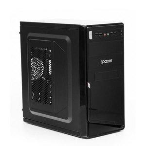 Carcasa SPACER Moon, 450W, 4 x USB 2.0, mATX, SPC-MOON
