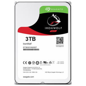 Hard Disk NAS SEAGATE IronWolf, 3TB, 5900 RPM, SATA3, 64MB, ST3000VN007