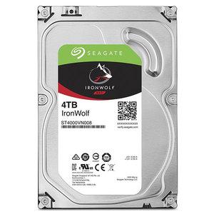 Hard Disk desktop Seagate IronWolf NAS 4TB, 5900RPM, SATA3, 64MB, ST4000VN008