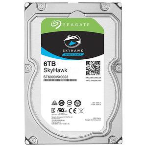 Hard Disk desktop SEAGATE SkyHawk Surveillance 6TB, 7200RPM, SATA3, 256MB, ST6000VX0023