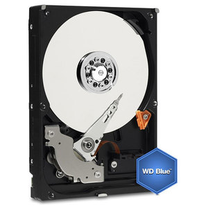 "Hard Disk desktop WESTERN DIGITAL Blue 2TB, 3.5"",  SATA3, 5400rpm, 64MB, WD20EZRZ"
