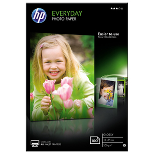 Hartie foto HP Everyday CR757A, 10 x 15cm, 100 coli