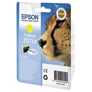 Cartus EPSON T0714, galben