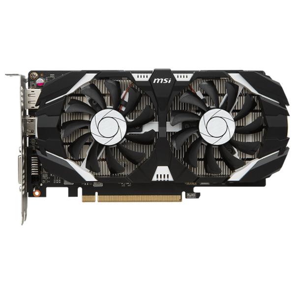 Placa video MSI NVIDIA GeForce GTX 1050, 4GB GDDR5, 128bit, GTX 1050 TI 4GT OC