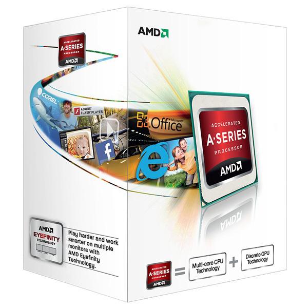 Procesor AMD Richland A4-X2 4000 AD4000OKHLBOX, 3.2GHz, 1MB, Socket FM2