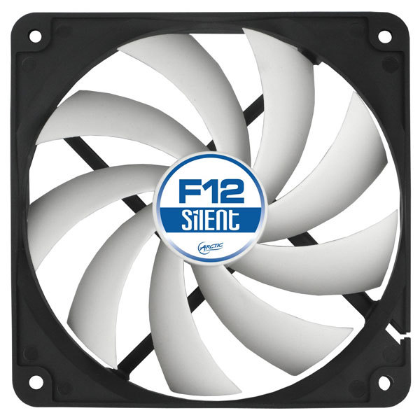 Ventilator ARCTIC F12 Silent, 120mm, 800rpm, 3-pin