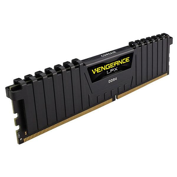 Memorie desktop Corsair Vengeance LPX Black 8GB DDR4, 2400MHz, CL16, CMK8GX4M1A2400C16