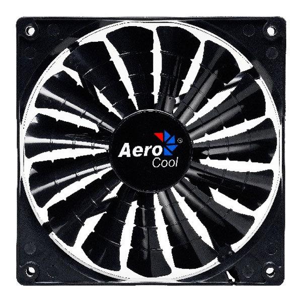 Ventilator AEROCOOL Shark Black Edition 120mm, 1000-1500rpm, EN55413
