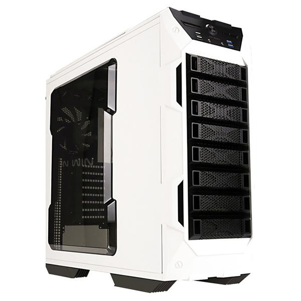Carcasa In Win GRone alb-negru, 2 x USB 2.0, 2 x USB 3.0, EATX