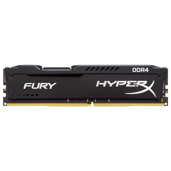 Memorie desktop KINGSTON HyperX Fury Black 16GB DDR4, 2400MHz, HX424C15FB/16