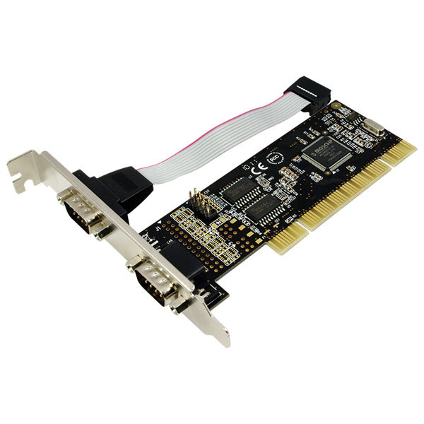 Adaptor LOGILINK PC0016, 1 x PCI Male, 2 x Serial Male